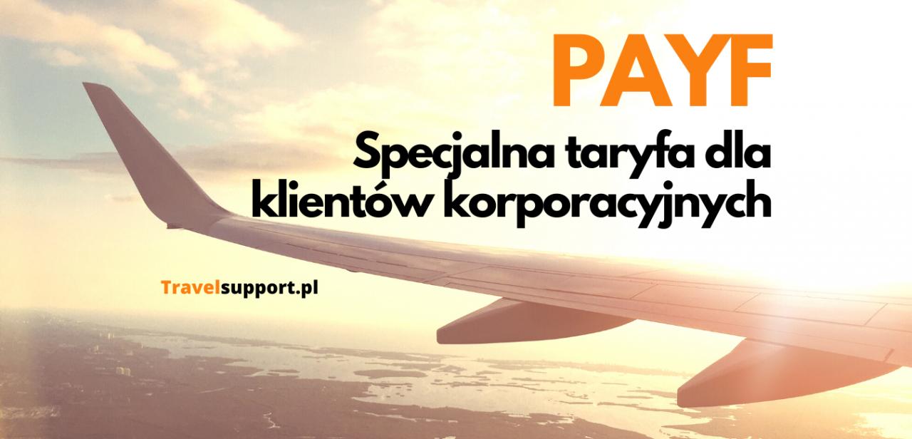 taryfy lotnicze dla firm