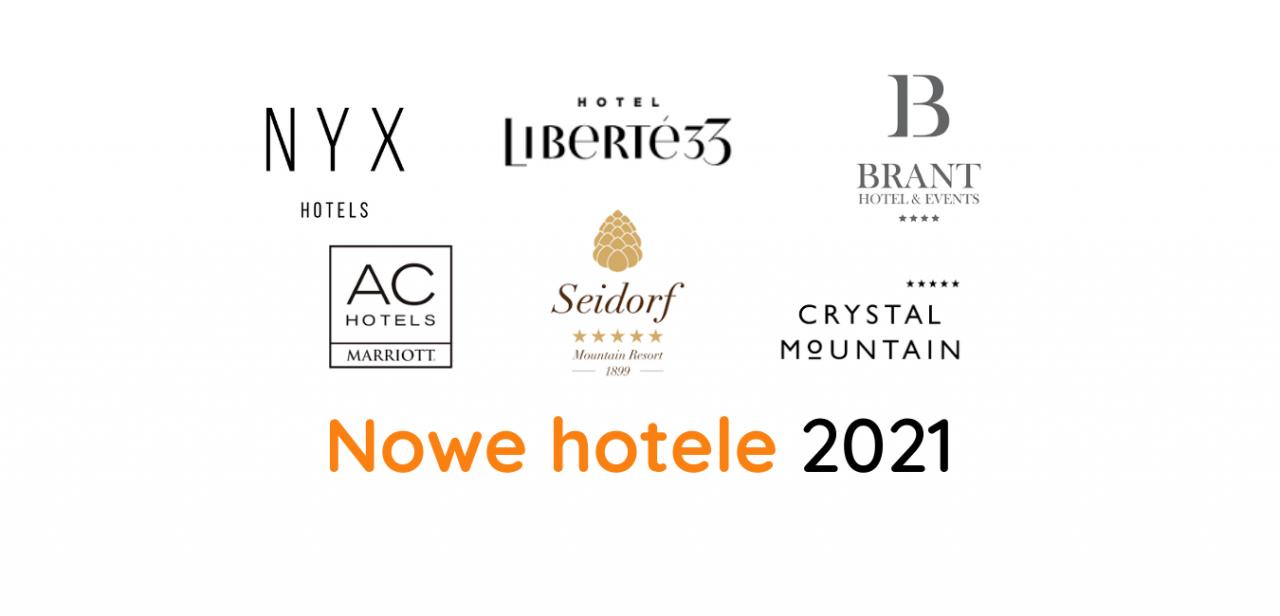 Nowe hotele lista 2021